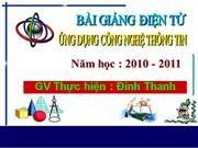 Cac chat dinh duong co trong thuc an