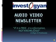 Investogyan Video NEWSLETTER OCT2010