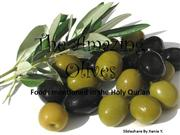 The Amazing Olives Foods mentioned in the Qur'an