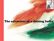 advocates of a shining india