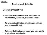 Acids and alkalis ppt