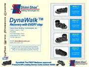DynaWalk made by Shimi-Shoe Walking Technologies Inc.