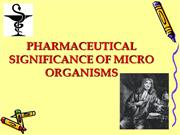 pharmaceutical significance of microbes