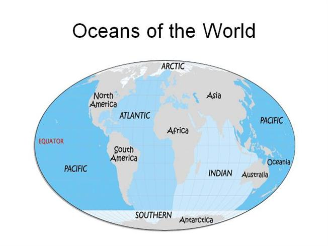 Oceans of the World |authorSTREAM