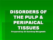diseases of pulp and periapical tissues