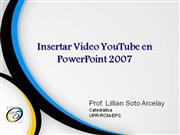 Insertar Video YouTube en Power Point 2007