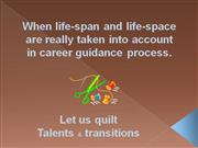 presentation of the talents & transitions patchwork ®  method
