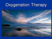 Oxygenation Therapy Powerpoint