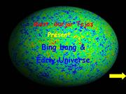 Big bang and early universe