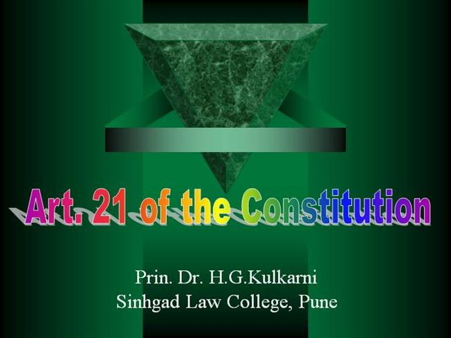 Indian Constitutional Law and Philosophy | A topnotch WordPress