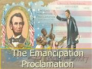 11-Emancipation Proclamation