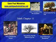 Bible Study - Mk. 11:1-11 Jesus' Entry into Jerusalem
