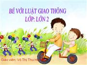 Be voi an toan giao thong