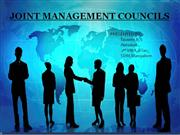 joint mangement councils
