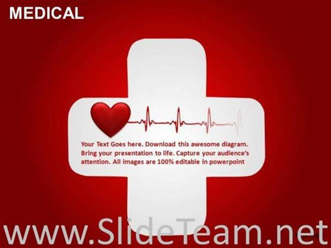 Heart attack first aid medical editable ppt slides powerpoint diagram related powerpoint templates toneelgroepblik Images
