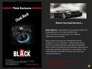 black motors car slide show