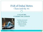 FAB of Dubai Metro