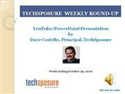 TechSposure Weekly Round-Up October 29, 2010