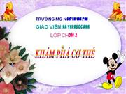 kham pha co the