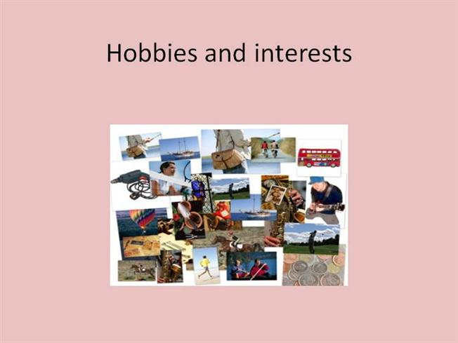 presentation on hobbies and interest