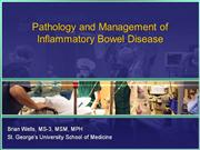 Pathology and Management of Inflammatory Bowel Disease