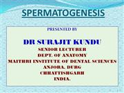 SPERMATOGENESIS PPT