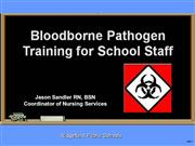 RPS Bloodborne Pathogens Training Powerpoint