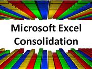 Using Multiple Workbooks & Consolidation in Microsoft Excel