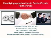 Identifying opportunities in Public-Private Partnership