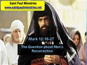 Bible Study - Mk. 12:13-17 The Question about Paying Taxes