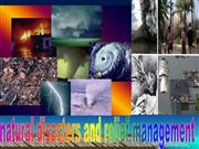 natural disasters and relief