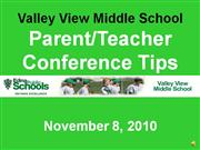 parent/teacher conference tips