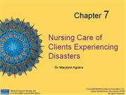 DISASTER NURSING MANAGEMENT