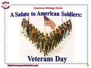 pen 2947 - a  salute to american soldiers: veterans day