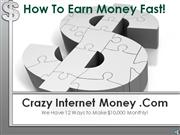 earn money fast