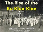 6-The Rise of the KKK