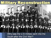 7-Military Reconstruction
