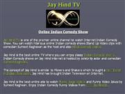 online indian comedy show