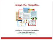 Santa Letter Templates