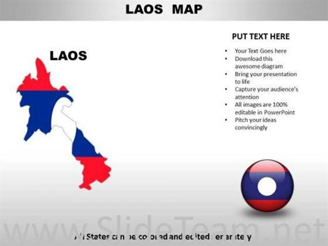 country powerpoint maps laos related powerpoint templates
