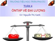 On tap ve dai luong