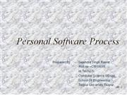 personal software process