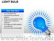 ENERGY LIGHT BULB POWERPOINT SLIDES