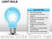 DESIGN LIGHT BULB POWERPOINT SLIDES