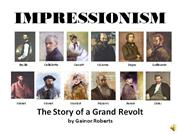 impressionism: the story of a grand revolt