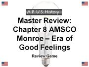 apus master review game chp 8 monroe