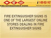 FireExtinguisherSigns - Online Store Dealing In Fire Extinguisher Sign