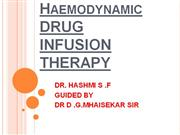 DRUG  INFUSION THERAPY
