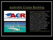 australia cruise reservations, booking, cruise deals