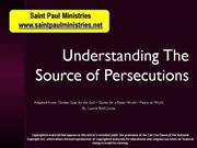 Bible Study Mark 13:13 Coming Persecution